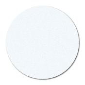 "1"" Translucent Paper Circle Stickers"