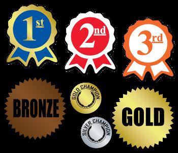 Specialty Award Stickers
