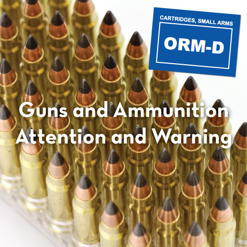 Guns & Ammunition Labels