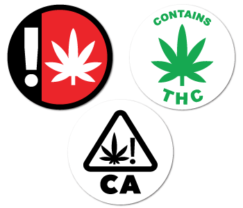 Cannabis Industry Stickers