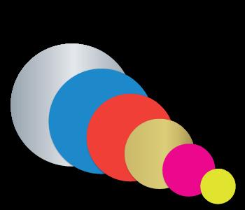 Blank Circles Stickers