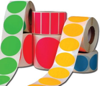 Blank Roll Stickers