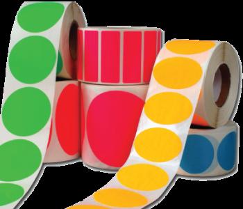 Blank Roll Stickers