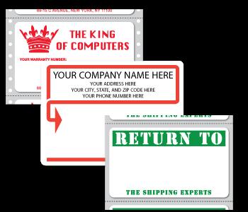 Custom Printed Mailing Labels