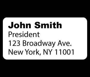 Custom Address Stickers