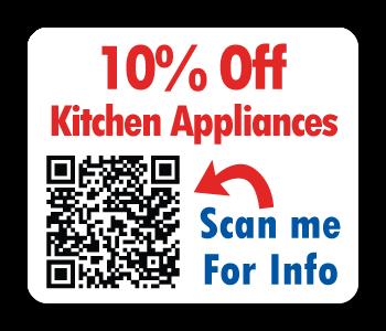 QR Stickers for Kitchen Appliances