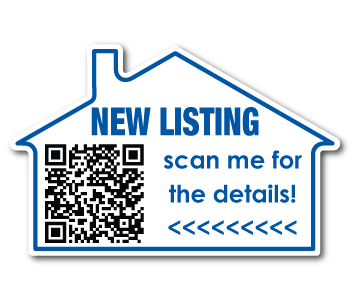 QR Stickers for Real Estate