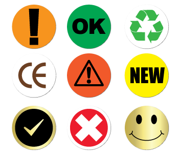 Print On-Demand Pre-Designed Stickers