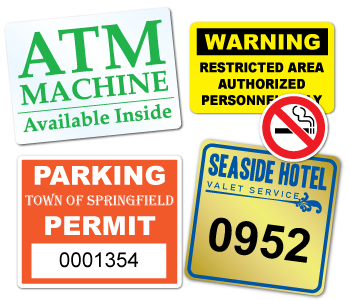 Weather-Proof Stickers