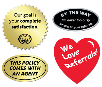 Insurance Agents and Brokers Labels