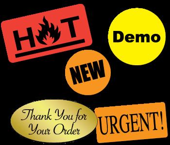 Stock Printed Labels