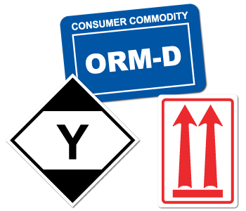 Regulated Materials Safety Labels