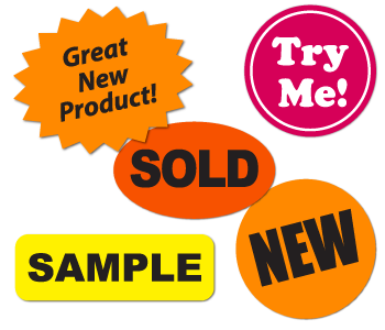 Labels and Stickers for the Retail Industry
