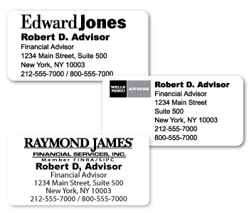 Custom Address Stickers for business use.