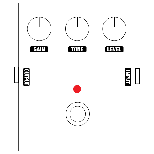 stompbox labels for diy guitar pedals