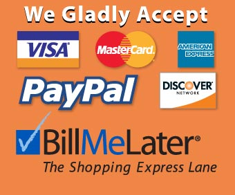 Payment Options provided at Sticker.com