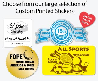 We can custom print any stickers you can image!